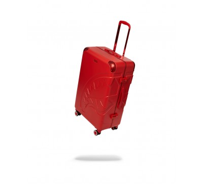 28'' RED MOLDED SHARKMOUTH LUGGAGE