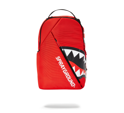 ANGLED SHARK BACKPACK (RED)