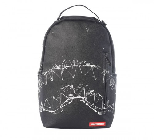 BROKEN GLASS SHARK BACKPACK