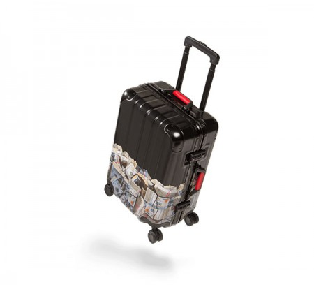 """Money Rolled 22"""" Carry-On Luggage"""